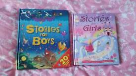 Two book...Stories for girls/boys