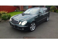 Mercedes E500 4Matic Left Hand Drive only 45,000 miles Every Possible Extra