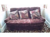 Sofa chair and cushions FREE FREE FREE