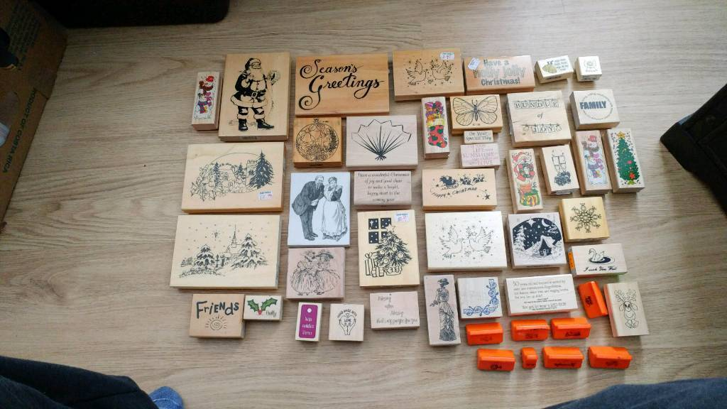 Rubber Stamp Prints Kids Playgroup Crafts In County