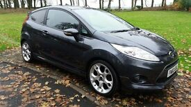 2010 FORD FIESTA 1.6 ZETEC S - GREY - 11,000MLS - FFSH - LONG MOT - PRIVACY GLASS - PARKING SENSORS