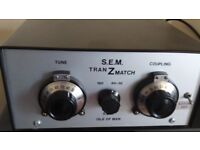 S.E.M transmatch tuner