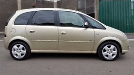 VAUXHALL MERIVA DESIGN 1.6 PETROL MOT APRIL 2018