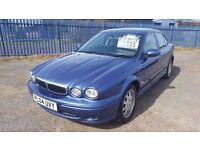 REDUCED 2004 JAGUAR XTYPE 2.0d DIESEL 95K MILES FSH PX WELCOME