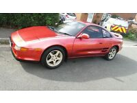 Toyota MR2 Red 1992 Import. custom paint