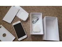 Iphone 6 16gb white gold new condition