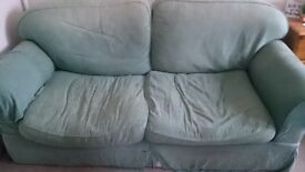 2 matching sofas available for free