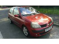 2004 Renault​ Clio 1.2 mot may 2018 excellent condition through out with 3 months warranty