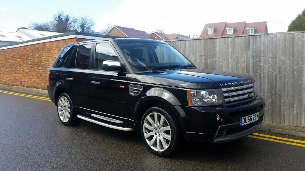 land rover range rover sport 3 6 td v8 hse 5dr 2007 bodykit performance exhaust twin turbo in. Black Bedroom Furniture Sets. Home Design Ideas