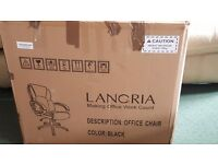 Langria Black office chair