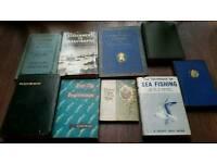 Vintage books, Dylan Thomas, Kipling etc