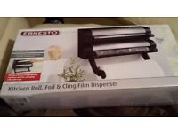 3-in-1 Kitchen Roll, Foil & Cling Film Dispenser