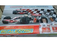 McLaren Mercedes Scalextric Lewis Hamilton v Heikki Kovalainen