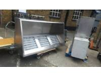 Commercial catering kitchen canopy hood 2meter