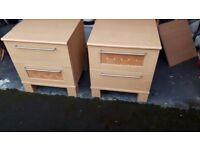 Harveys Bedside cabinets - used