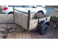 Strong 6'x4' (180x120) trailer