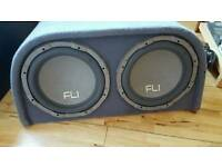 Fli 2000 watt speaker/amp