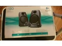 LOGITECH Z130 5W STEREO SPEAKERS