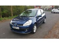 RENAULT CLIO 1.5 DCI DIESEL £30 TAX 5DR 2 KEYS SERVICE HISTORY 56REG any trial very reliable