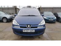 2007 | Peugeot 807 2.0 143 SE | Automatic | 2 Former Keepers | Climate Control