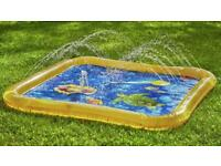 New Sprinkler water mat for garden