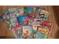 Collection collectable of Disney wonderful world books
