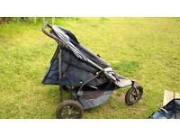 Double buggy- Phil & Teds sports all terrain. Pre loved.