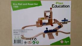 Plan Education Road Rail Set/ Brand New