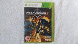Crackdown 2 Xbox 360 Nottinghamshire with Sunburst Poster