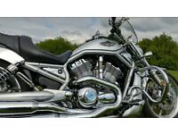 STUNNING 2005 HARLEY DAVIDSON V ROD FULL STAGE 1 DRIPPING WITH GENUINE HARLEY EXTRAS