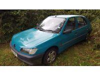 Spares or repair Peugeot 306 diesel car
