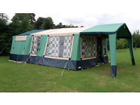 2008 Cabanon Mistral trailer tent, lots of extras, great condition.