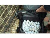 Over 300 used golf balls