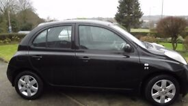 Stunning black Micra SE diesel £30 per year road tax, 60mpg. Top of range model