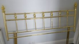 Double bed Brass Headboad