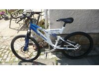 **Silverfox Mountain bike ** 24 inch wheel**