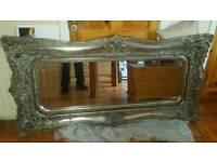Exceptional wooden mirror