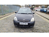2004 Toyota Yaris 1.0 black 5dr hatchback Manual Petrol MOT Dec2018 full service history 2keys