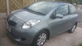 Toyota yaris 08 semi auto low millage lady owner