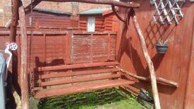 For sale a garden swing