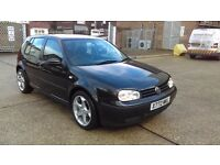 AN AUTOMATIC VW GOLF IN VERY GOOD CONDITION