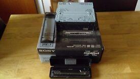 Sony Xplod radio/CD player