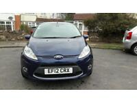 2012 Ford Fiesta Titanium 1.4 Tdci Lovely Car, 49K Miles £20 Road Tax