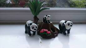 Playmobil Giant Panda Family