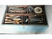 Job lot of old tools