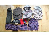 Boy's cosy clothes bundle for 3-4 years includes babyGap, mini club and Tu