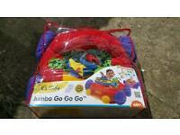 K's kids sit in jumbo go go go fabric car