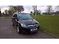 Vauxhall Zafira (2011) 1.7 CDTi SRI Diesel NAVI Black (7 Seater)