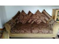 Settee and love chair
