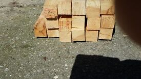 2x2 joinery grade softwoood 16 lengths x 2.4m (Total 38 metres)